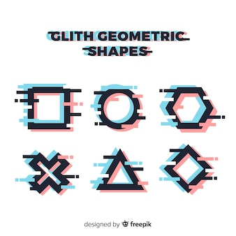 Glith geometric shape collection