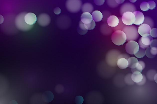 キラキラとサークル光輝く背景