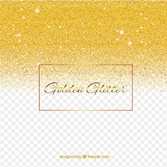 Sfondo glitter in stile dorato