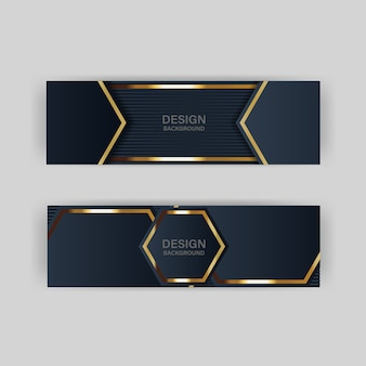 Glitter background light with abstract color modern technology banner gold