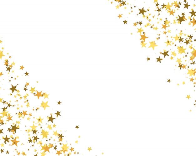 Glitter background made of stars