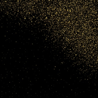 Glitter particles background effect for luxury greeting rich card