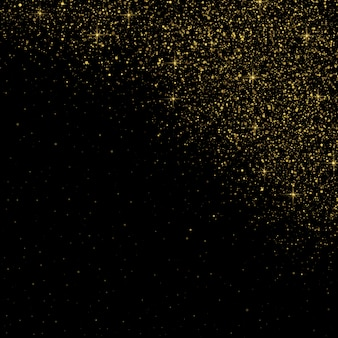 Glitter particles background effect