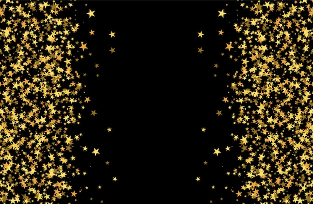 Glitter pattern made of stars