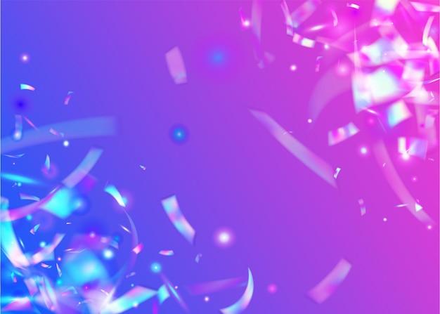 Glitter. purple blur tinsel.