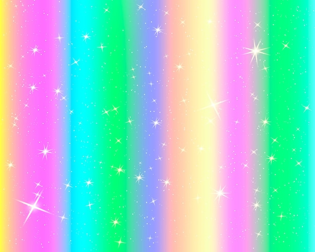 Glitter rainbow background. the sky in pastel color. bright mermaid pattern.