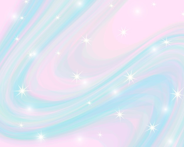 Glitter rainbow background. the sky in pastel color.