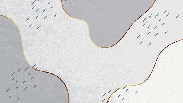 キラキラベクトル背景お祭りの背景灰色の背景波金色の線