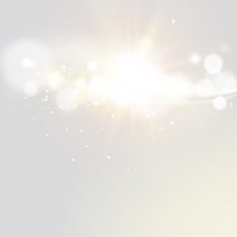 Glitter vintage lights.
