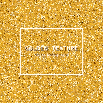 Glittering golden texture