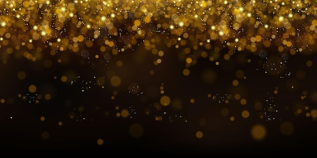 Glittering particles of fairy dust.