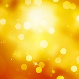 Glittery gold christmas background.