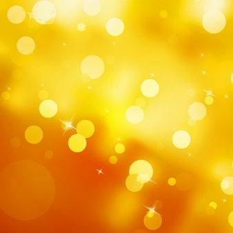 Glittery gold christmas background.
