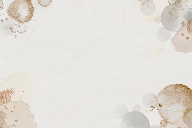 Sfondo beige festivo acquerello scintillante