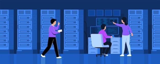 グローバルデータセキュリティ、個人データセキュリティ、サイバーデータセキュリティオンラインコンセプトイラスト、インターネットセキュリティまたは情報のプライバシーと保護。