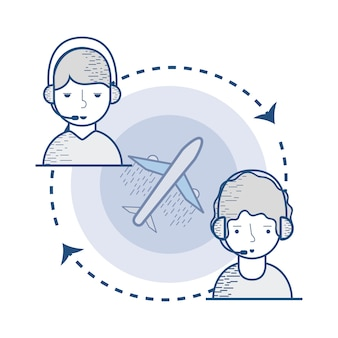 Global delivery call center services
