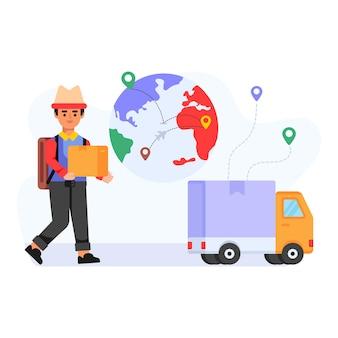 글로벌 배송