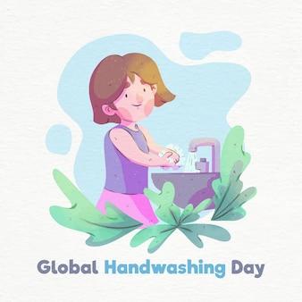 Концепция глобального дня мытья рук