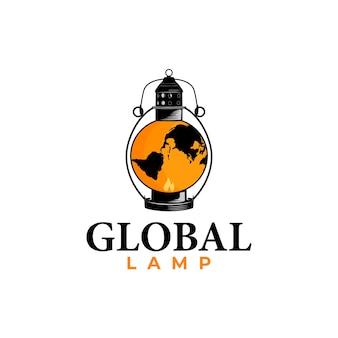 Global lamp logo