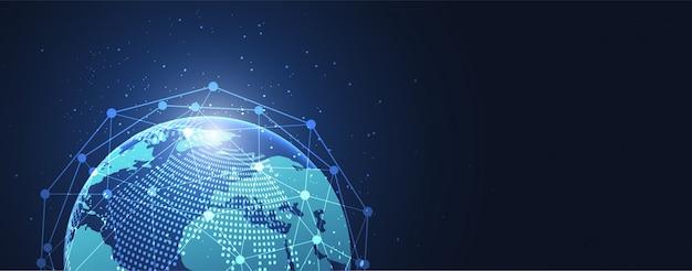 Глобальное сетевое соединение фон
