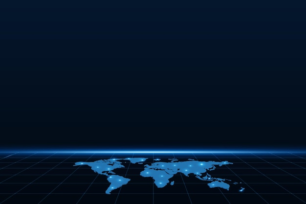 Карта подключения к глобальной сети.