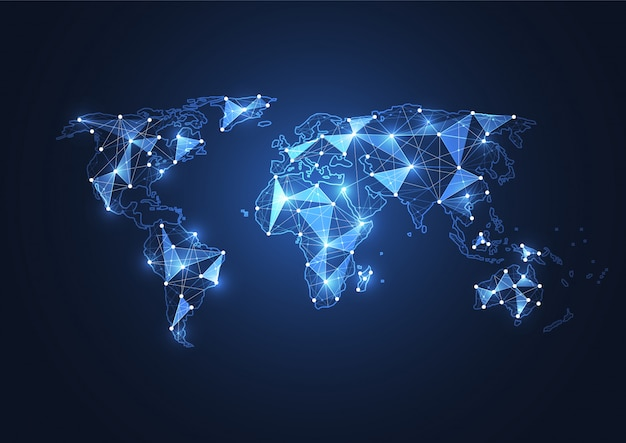 Global network connection.