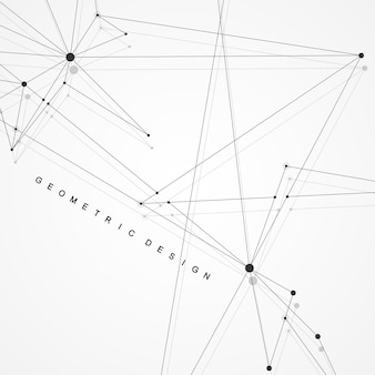 Global network connections with points and lines. wireframe background. abstract connection structure. polygonal space background. vector illustration.
