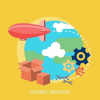 Global services background
