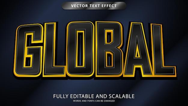 Редактируемый файл eps с глобальным текстовым эффектом