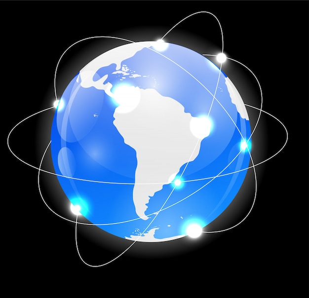 Значок глобуса