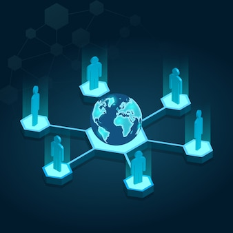 Globe isometric connection