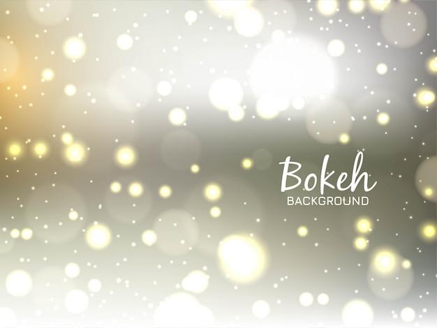 Glossy bright modern bokeh background