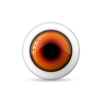 Глянцевый глаз. иллюстрации.