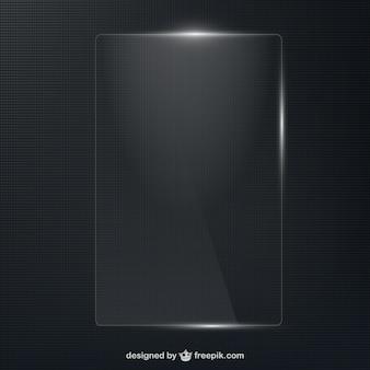 Glossy frame vector