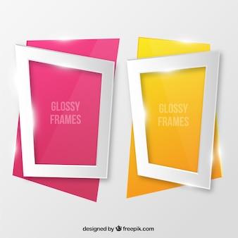 Glossy frames