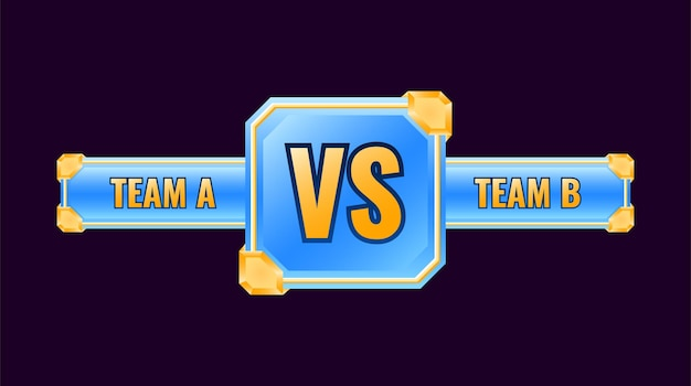 글로시 골든 블루 vs 메달 배지 프레임