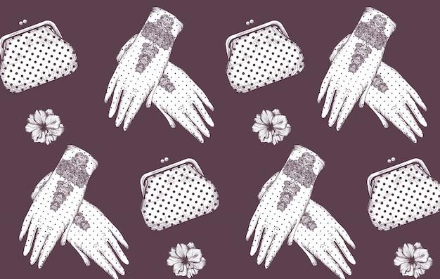 Перчатки и сумочки