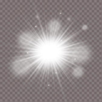 광선 조명 효과 그림 절연