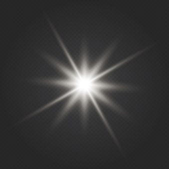 Glow light effect. star burst. glowing lights effect, flare, explosion and stars
