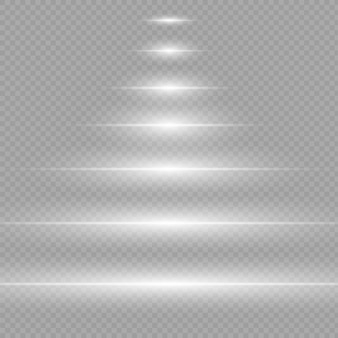Glow light effect. star burst, sun light   illustration