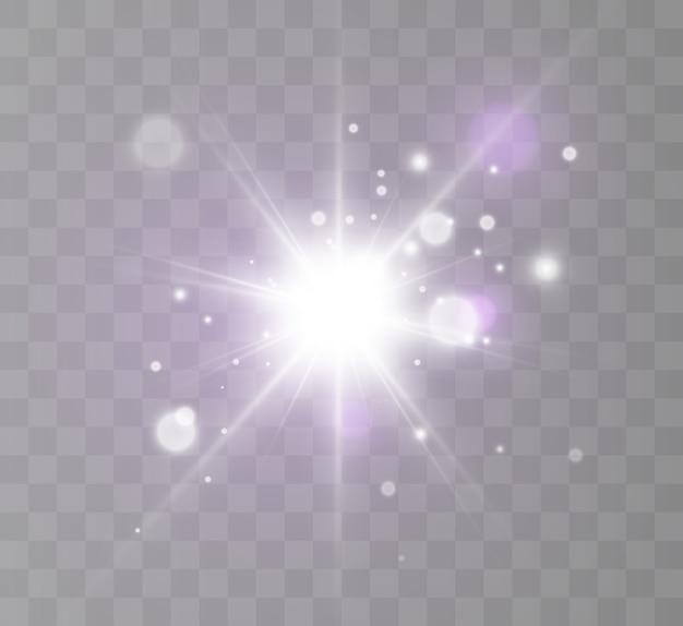 글로우 조명 효과 스타 버스트 반짝임