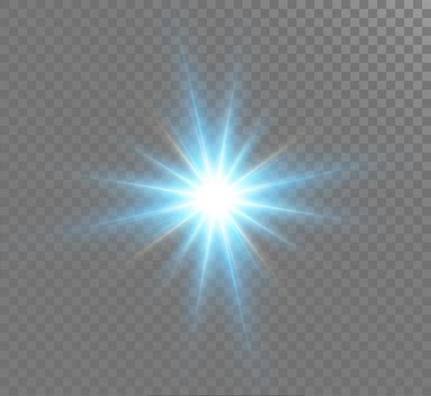 グローライト効果。スターバースト