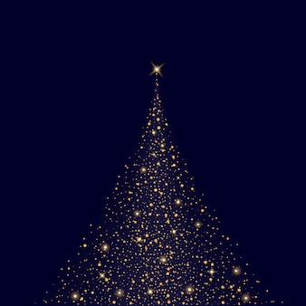 Glow light effect stars bursts with sparkles christmas background