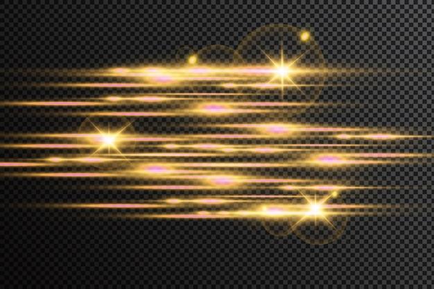 Свечение специальный световой эффект. светящиеся линии