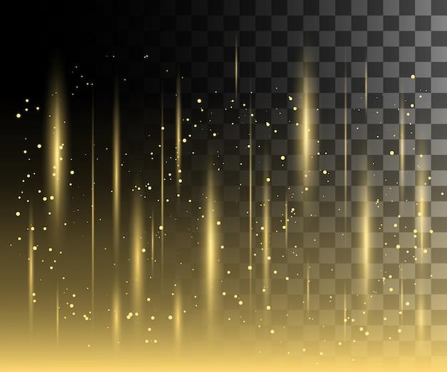 Свечение белый прозрачный эффект, блики линз, взрыв, блеск, линия, солнечная вспышка, искры и звезды. для иллюстрации шаблонов, для празднования рождества, волшебный луч энергии вспышки
