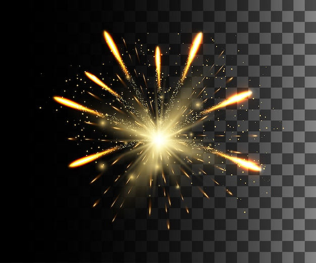 Glow  white transparent effect, lens flare, explosion, glitter, line, sun flash, spark and stars. for illustration template art ,  for christmas celebrate, magic flash energy ray