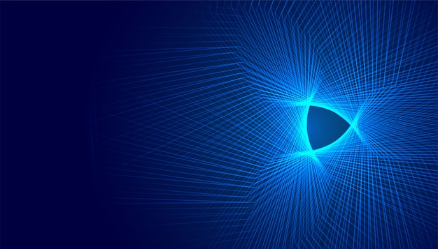Glowing abstract futuristic digital background design with lines
