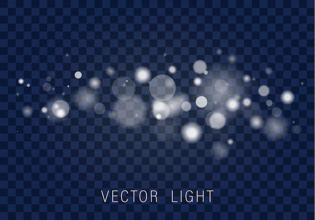 輝くボケライト効果