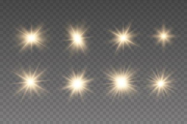輝くクリスマスライト