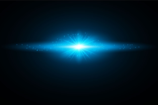 Glowing light burst explosion. decoration with ray sparkles. bright star